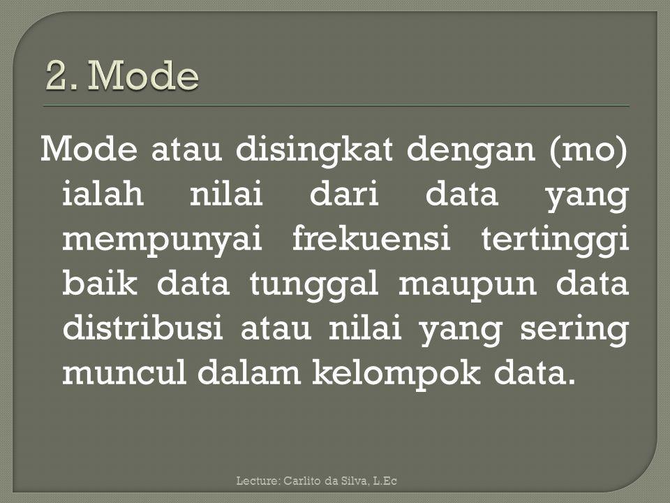 2. Mode