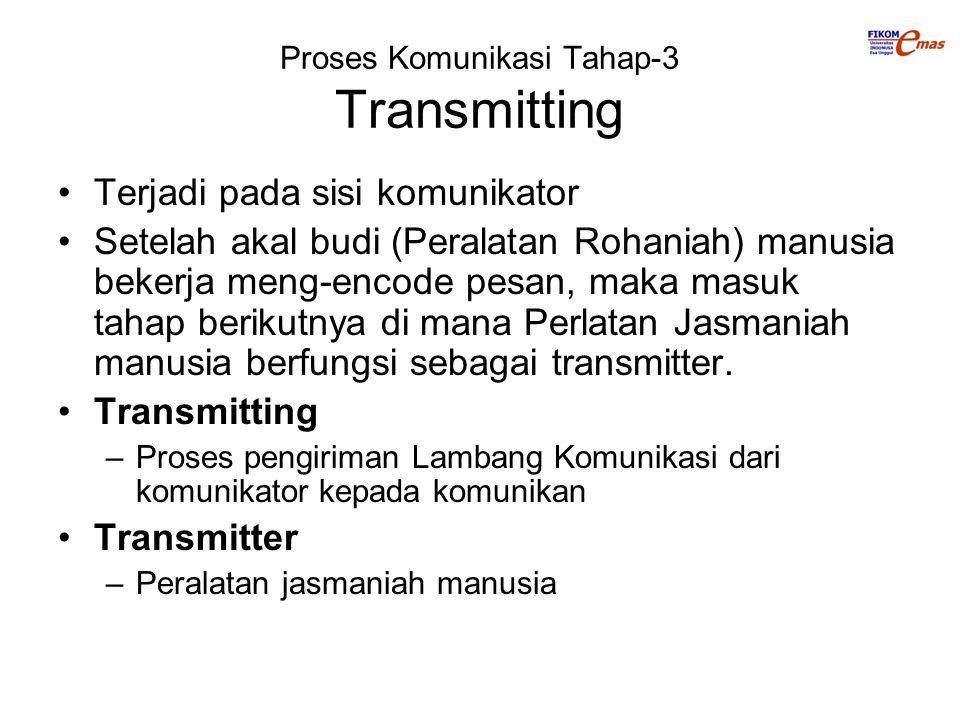 Proses Komunikasi Tahap-3 Transmitting