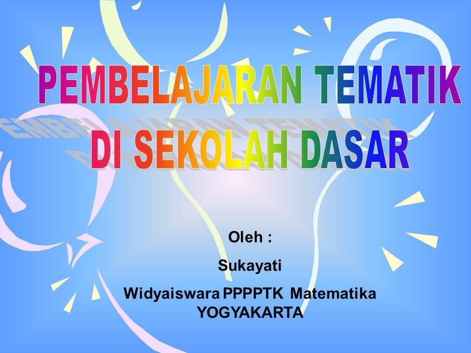 Widyaiswara PPPPTK Matematika YOGYAKARTA