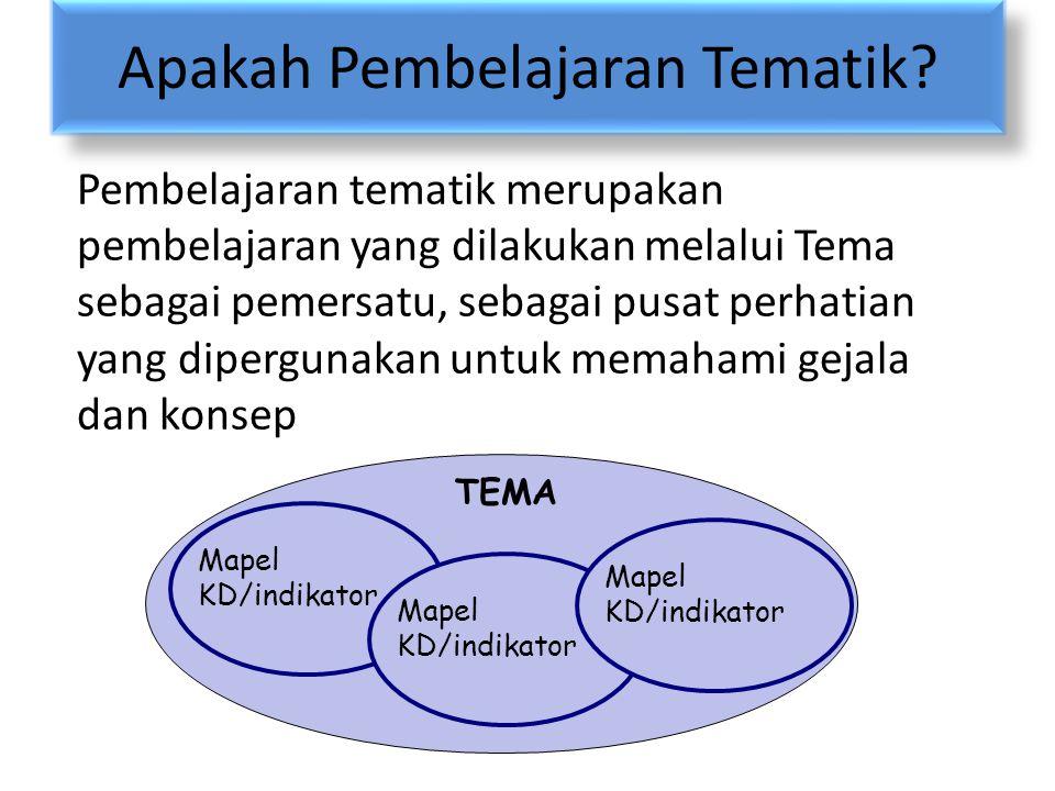 Apakah Pembelajaran Tematik
