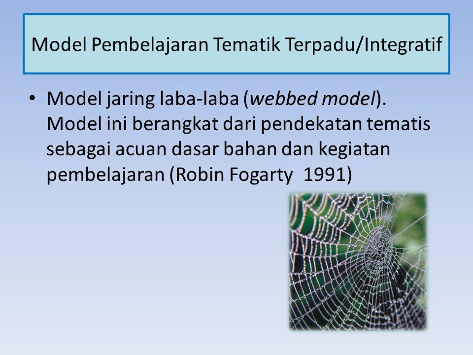 Model Pembelajaran Tematik Terpadu/Integratif