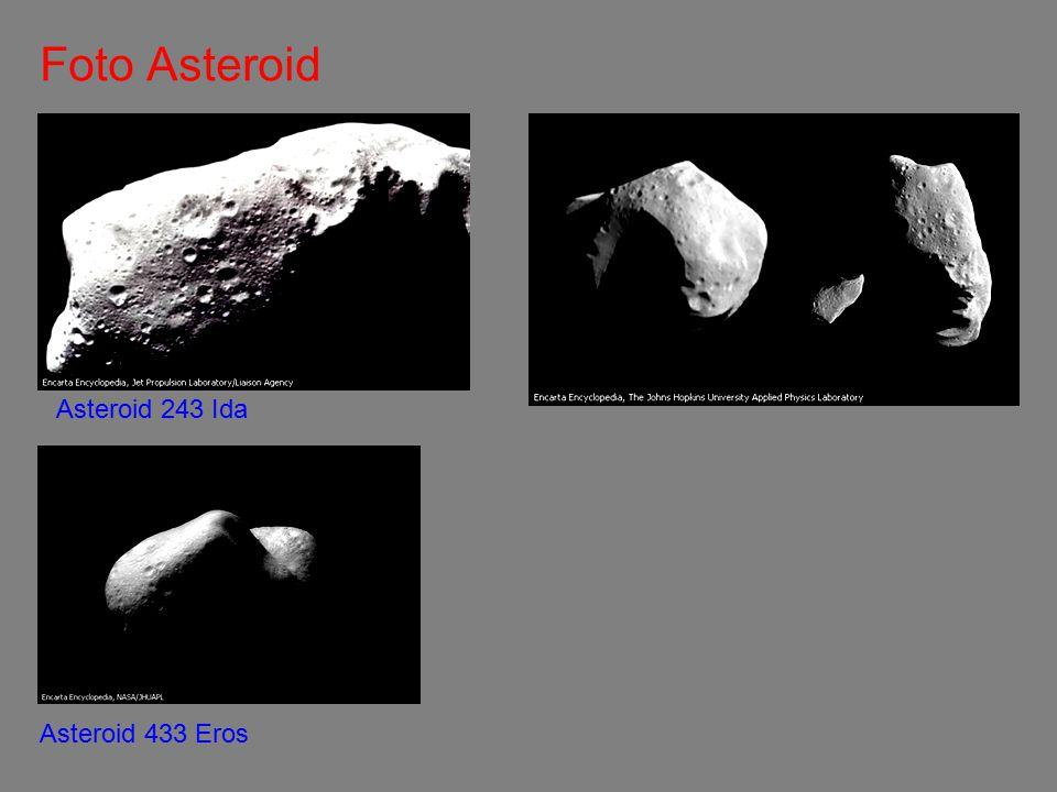 Foto Asteroid Asteroid 243 Ida Asteroid 433 Eros