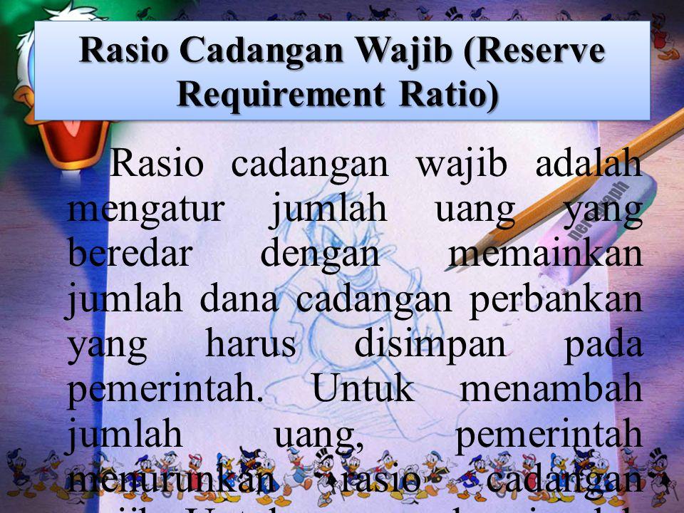 Rasio Cadangan Wajib (Reserve Requirement Ratio)