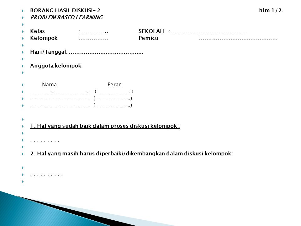 BORANG HASIL DISKUSI- 2 hlm 1/2.