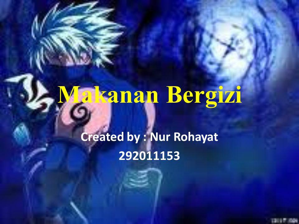 Created by : Nur Rohayat 292011153