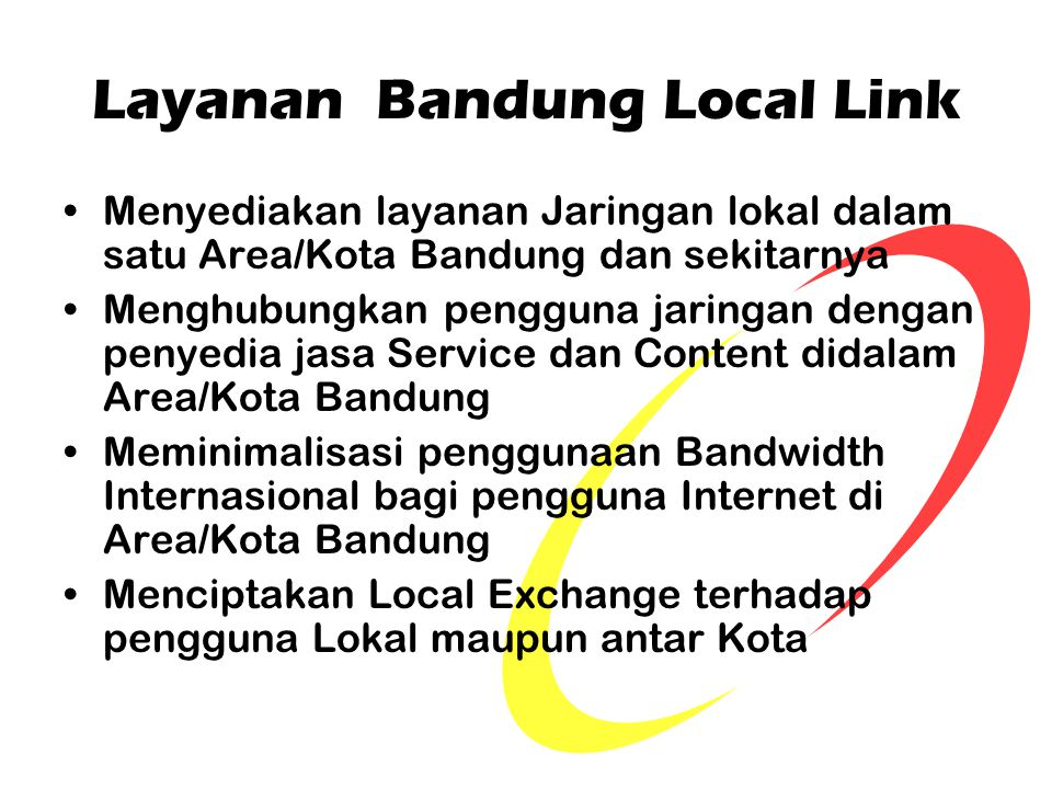 Layanan Bandung Local Link