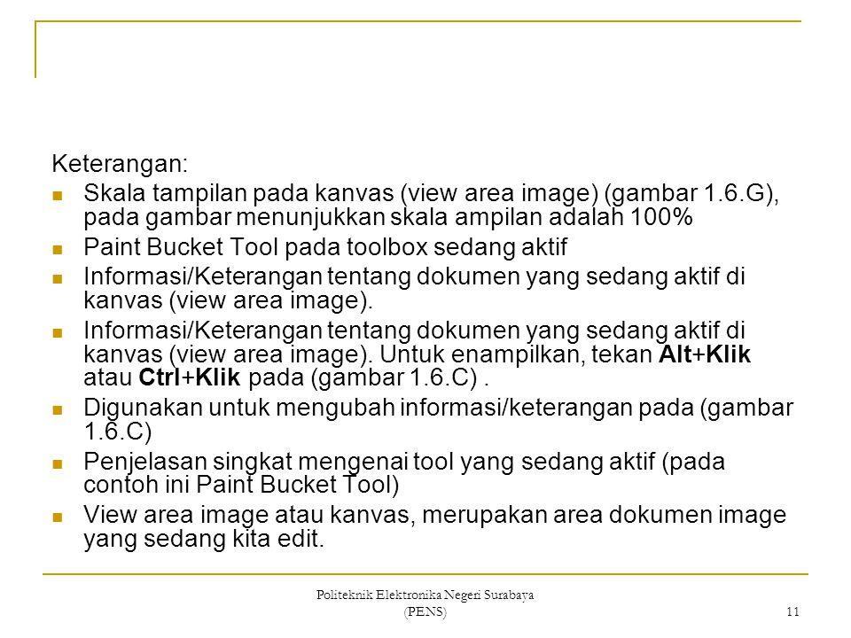 Politeknik Elektronika Negeri Surabaya (PENS)