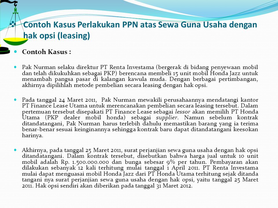 HAK GUNA USAHA (LEASING) - ppt download