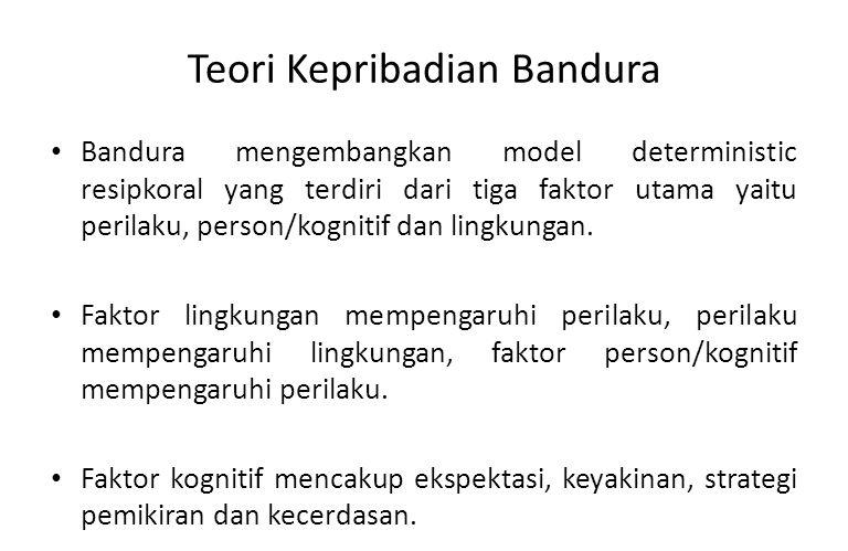 Teori Kepribadian Bandura