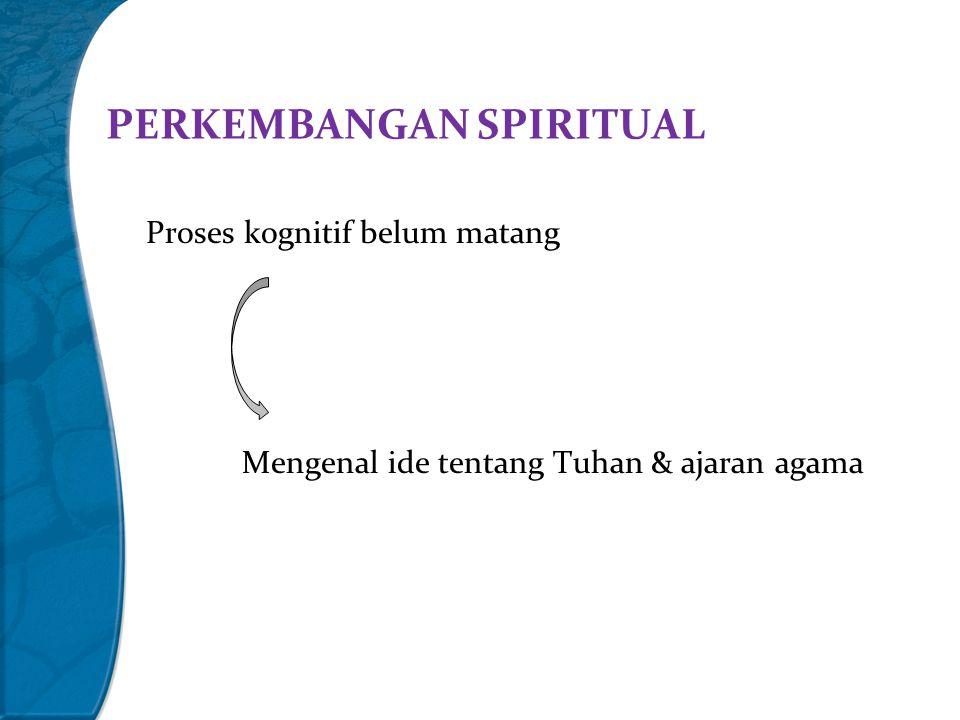 PERKEMBANGAN SPIRITUAL