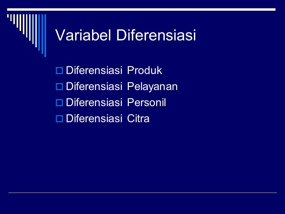Variabel Diferensiasi
