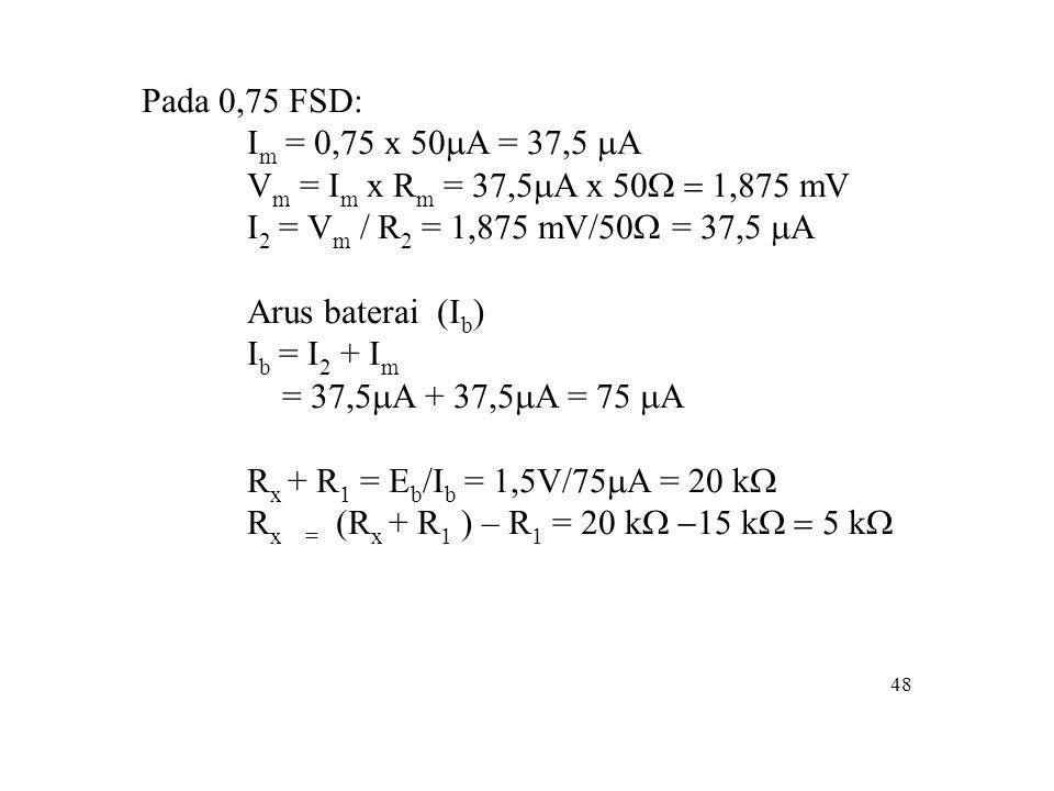 Rx = (Rx + R1 ) – R1 = 20 kW -15 kW = 5 kW
