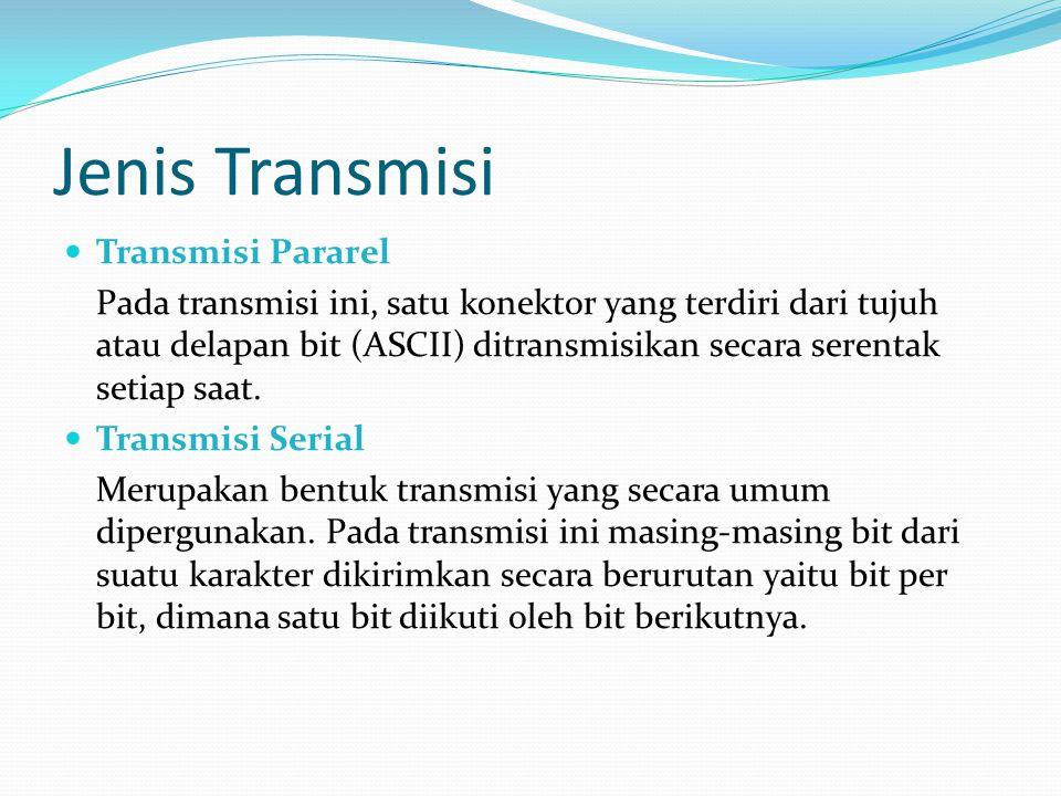 Jenis Transmisi Transmisi Pararel