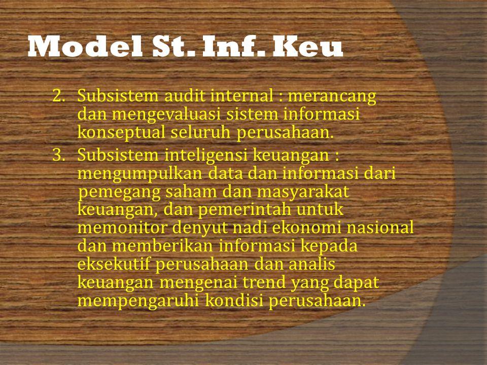 Model St. Inf. Keu