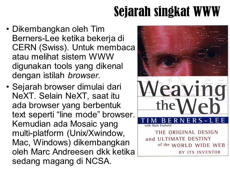 Sejarah singkat WWW
