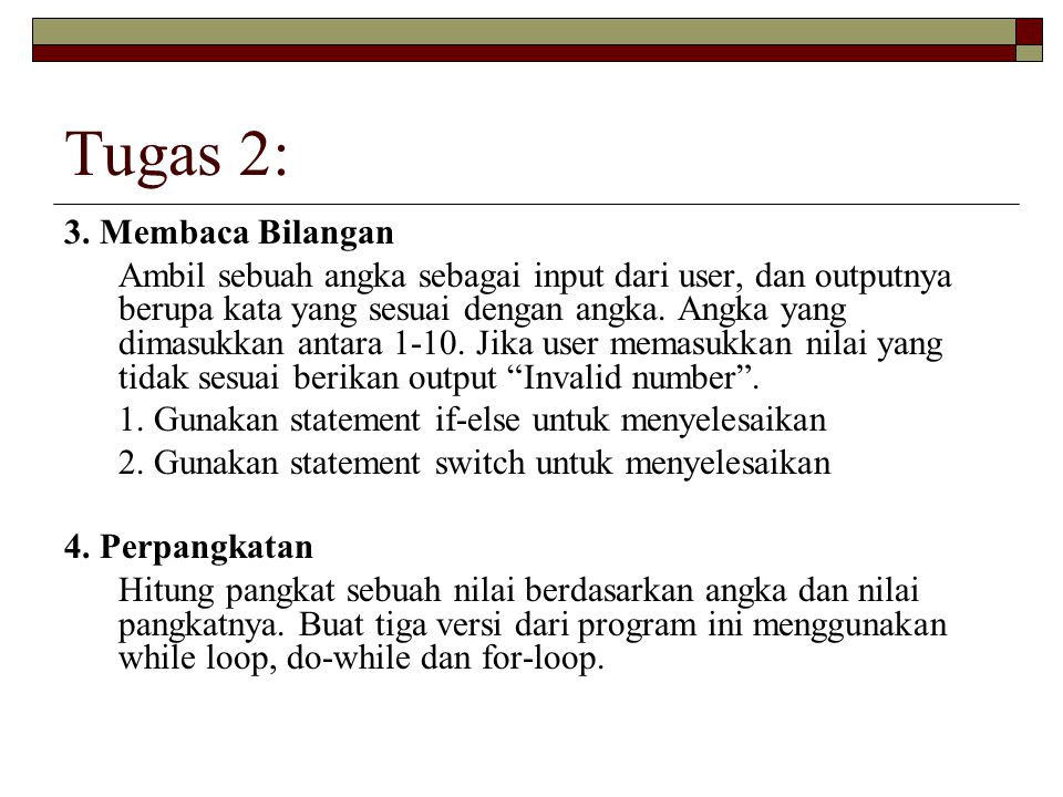 Tugas 2: 3. Membaca Bilangan