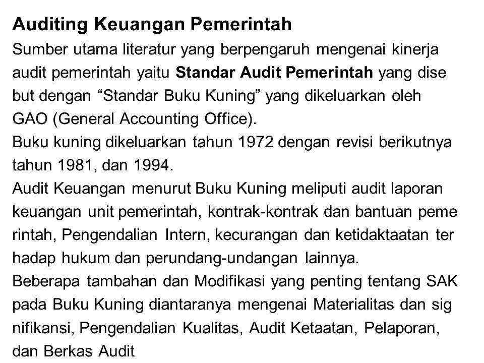 Auditing Keuangan Pemerintah