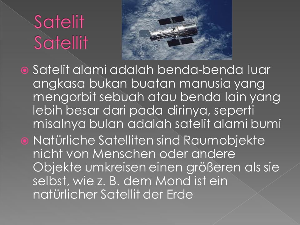 Satelit Satellit