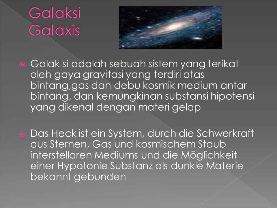 Galaksi Galaxis