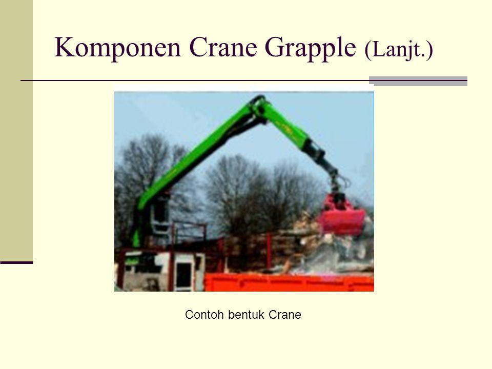 Komponen Crane Grapple (Lanjt.)