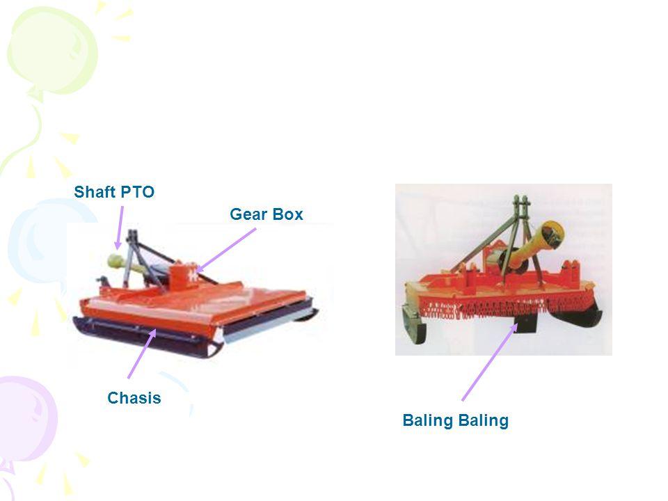 Shaft PTO Gear Box Chasis Baling Baling