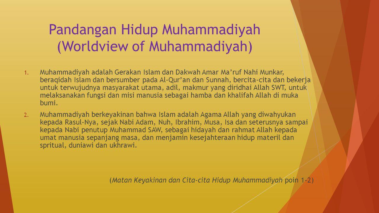 Pandangan Hidup Muhammadiyah (Worldview of Muhammadiyah)
