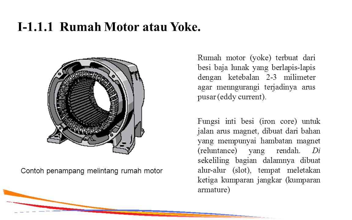 I-1.1.1 Rumah Motor atau Yoke.