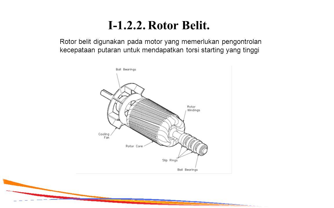 I-1.2.2. Rotor Belit.