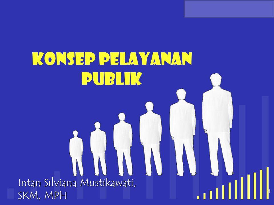 Konsep pelayanan publik