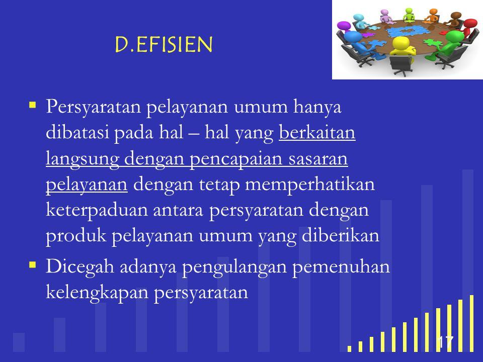D.EFISIEN