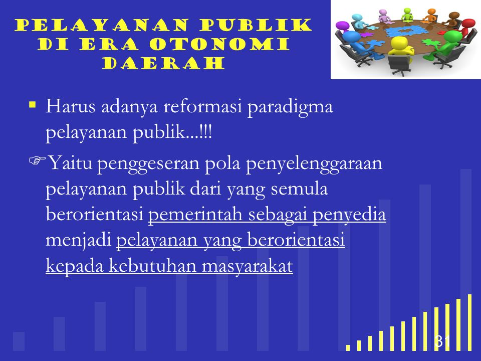 Pelayanan publik di era otonomi daerah
