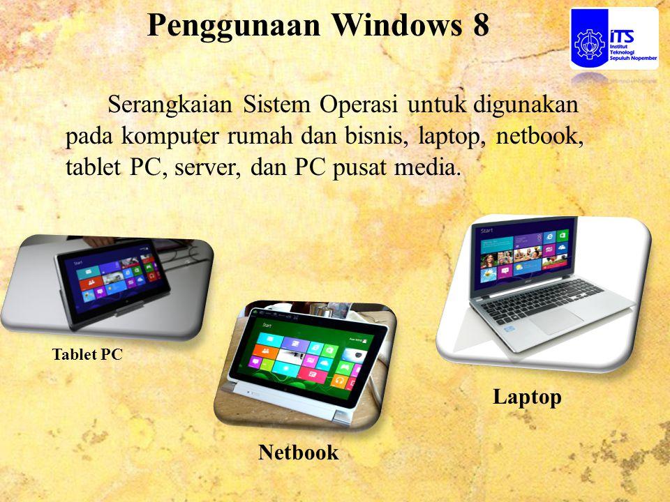 Penggunaan Windows 8