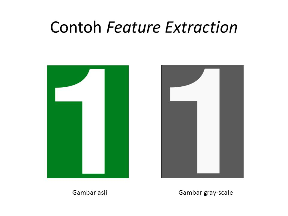 Contoh Feature Extraction