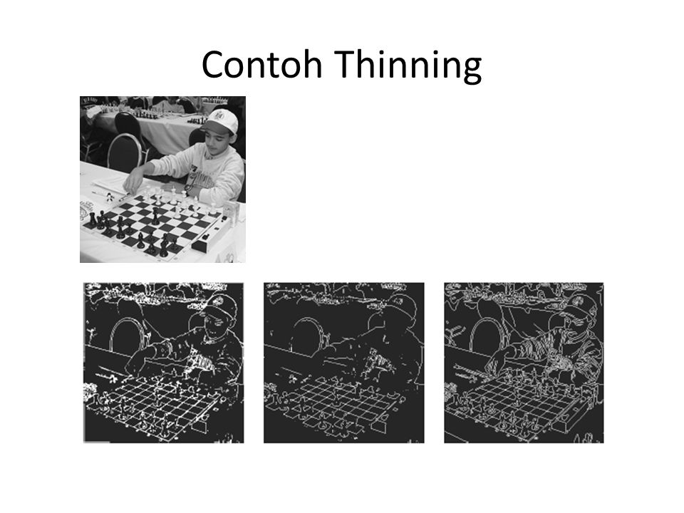 Contoh Thinning