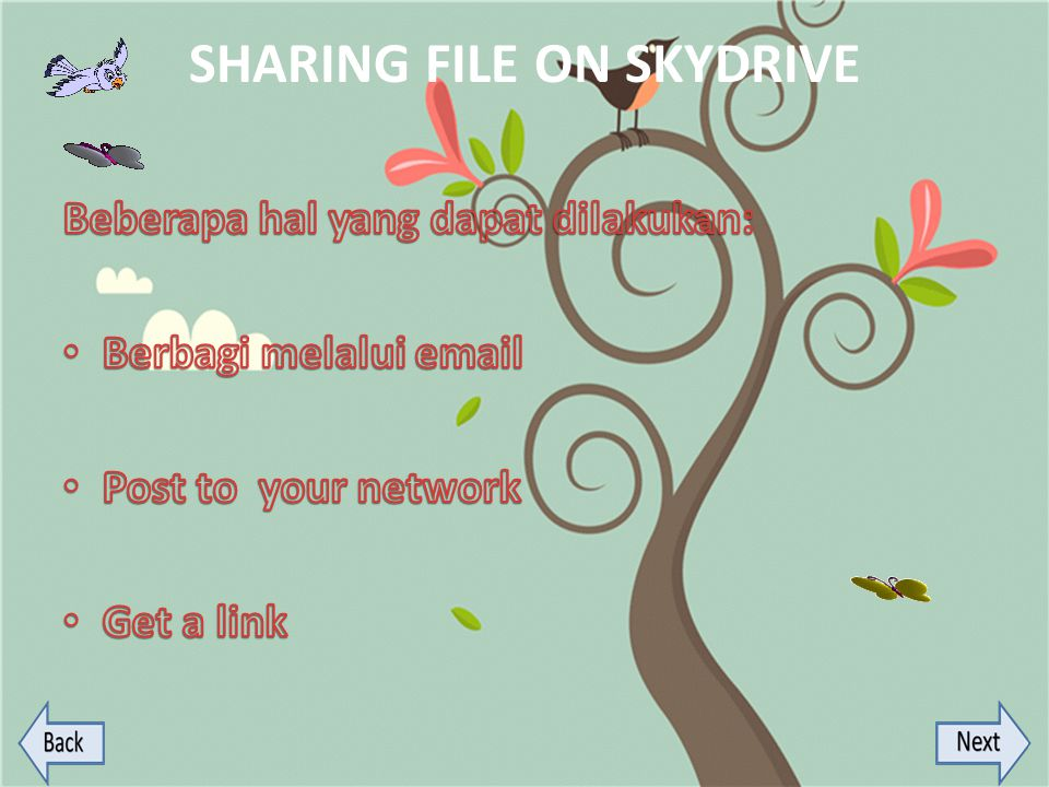 SHARING FILE ON SKYDRIVE