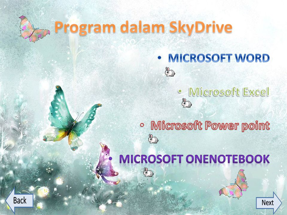 Program dalam SkyDrive