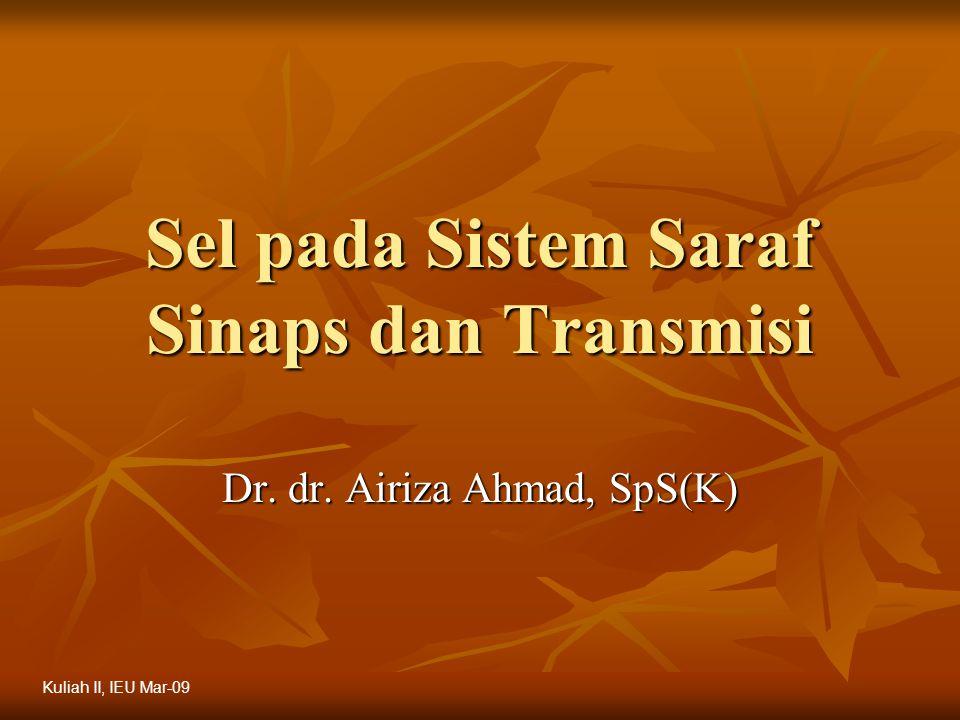 Sel pada Sistem Saraf Sinaps dan Transmisi