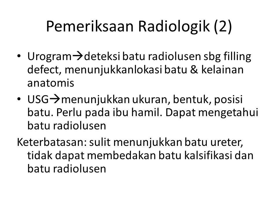 Pemeriksaan Radiologik (2)