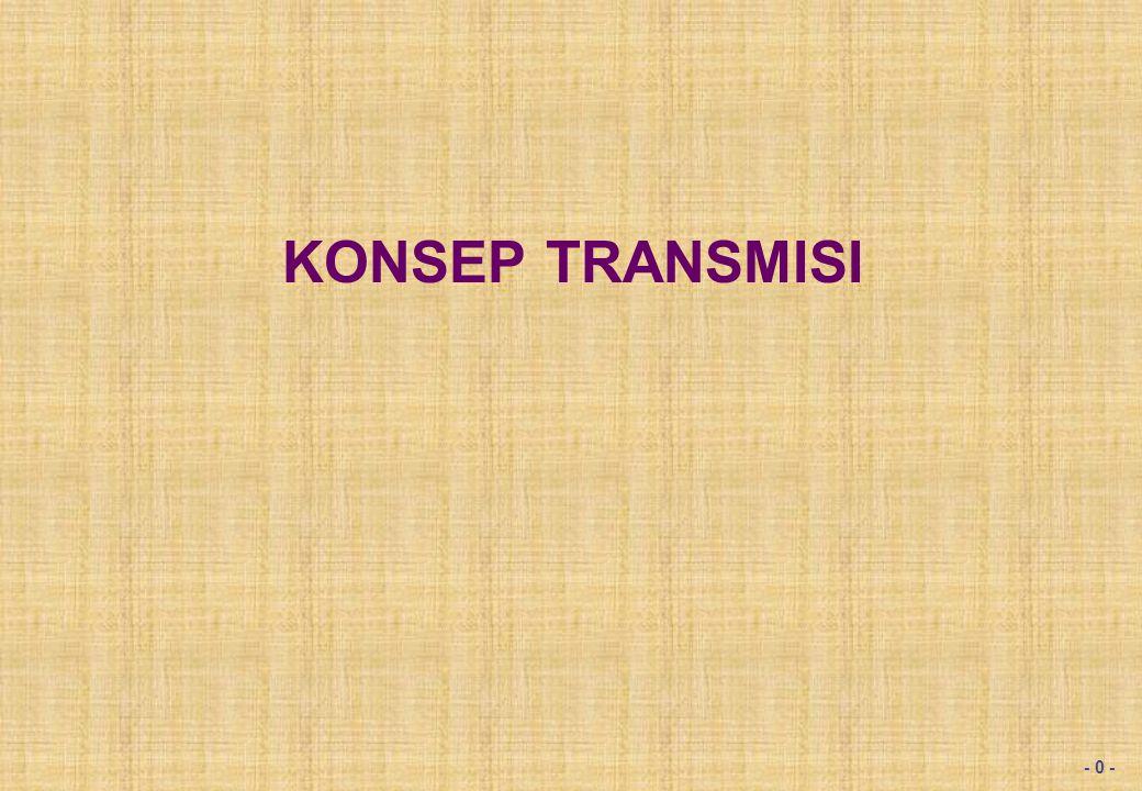 Mode transmisi yang dikenal terdiri dari dua macam, yaitu :