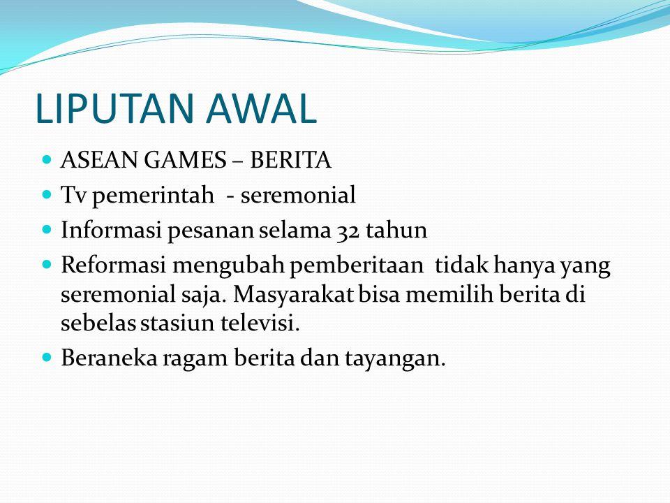LIPUTAN AWAL ASEAN GAMES – BERITA Tv pemerintah - seremonial