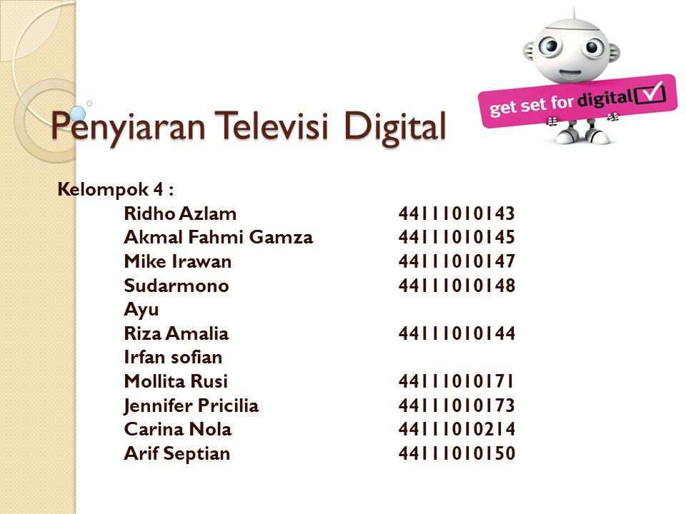 Penyiaran Televisi Digital