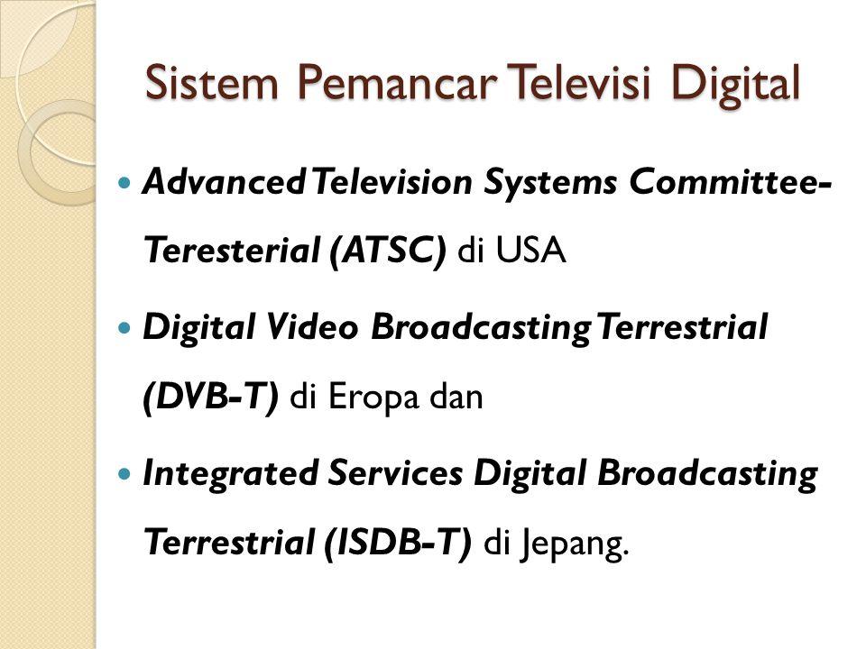 Sistem Pemancar Televisi Digital