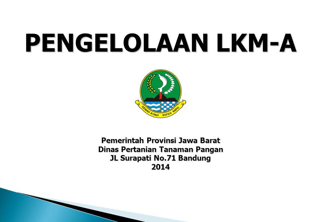 Pemerintah Provinsi Jawa Barat Dinas Pertanian Tanaman Pangan