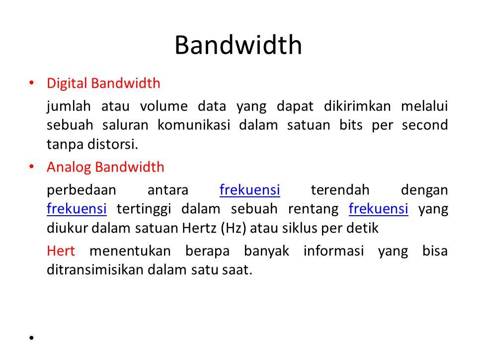 Bandwidth Digital Bandwidth