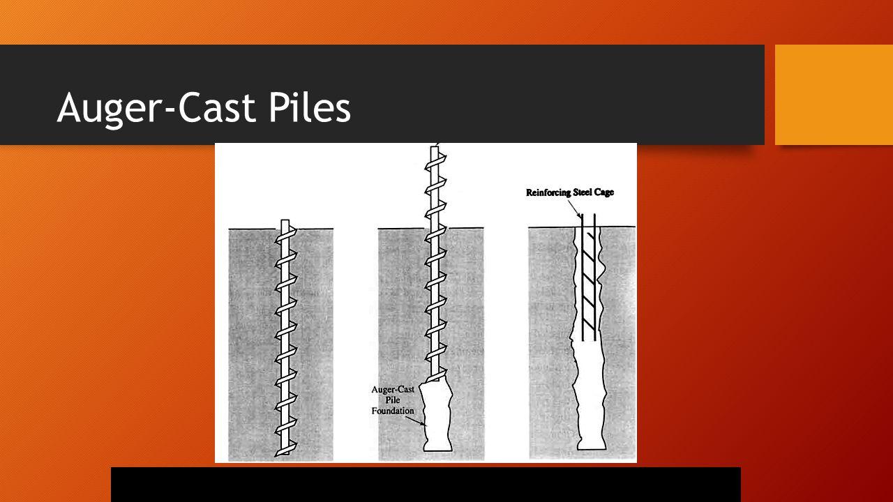 Auger-Cast Piles
