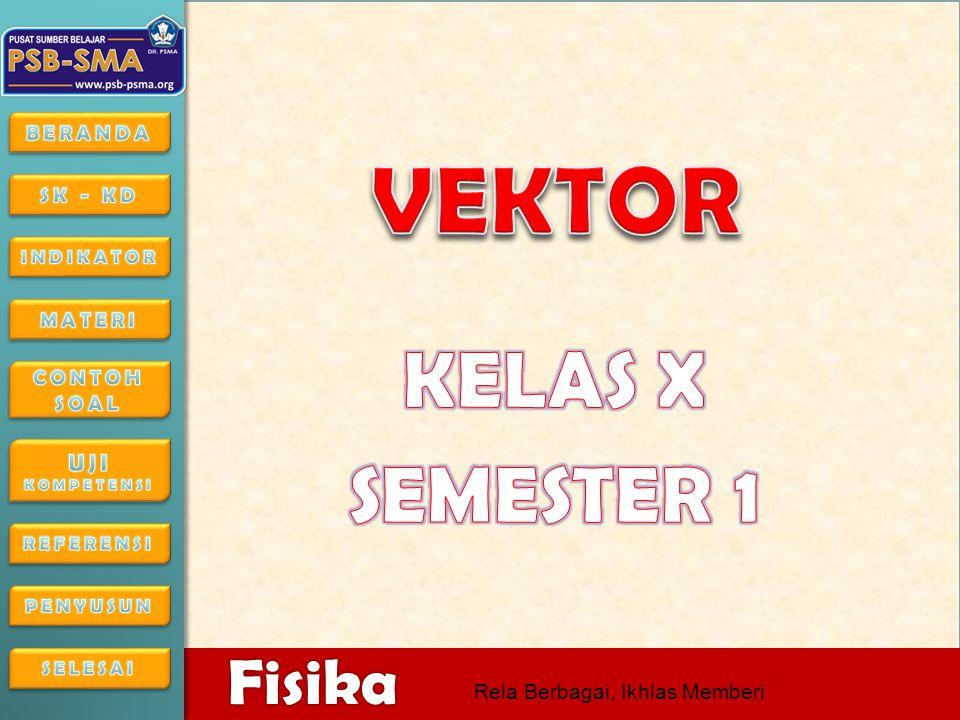 VEKTOR KELAS X SEMESTER 1