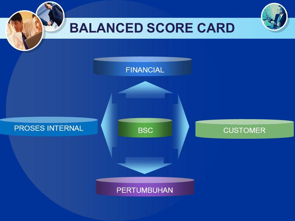 BALANCED SCORE CARD FINANCIAL PROSES INTERNAL CUSTOMER BSC PERTUMBUHAN