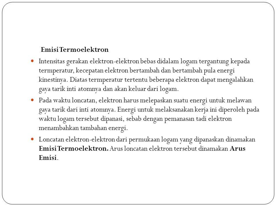 Emisi Termoelektron