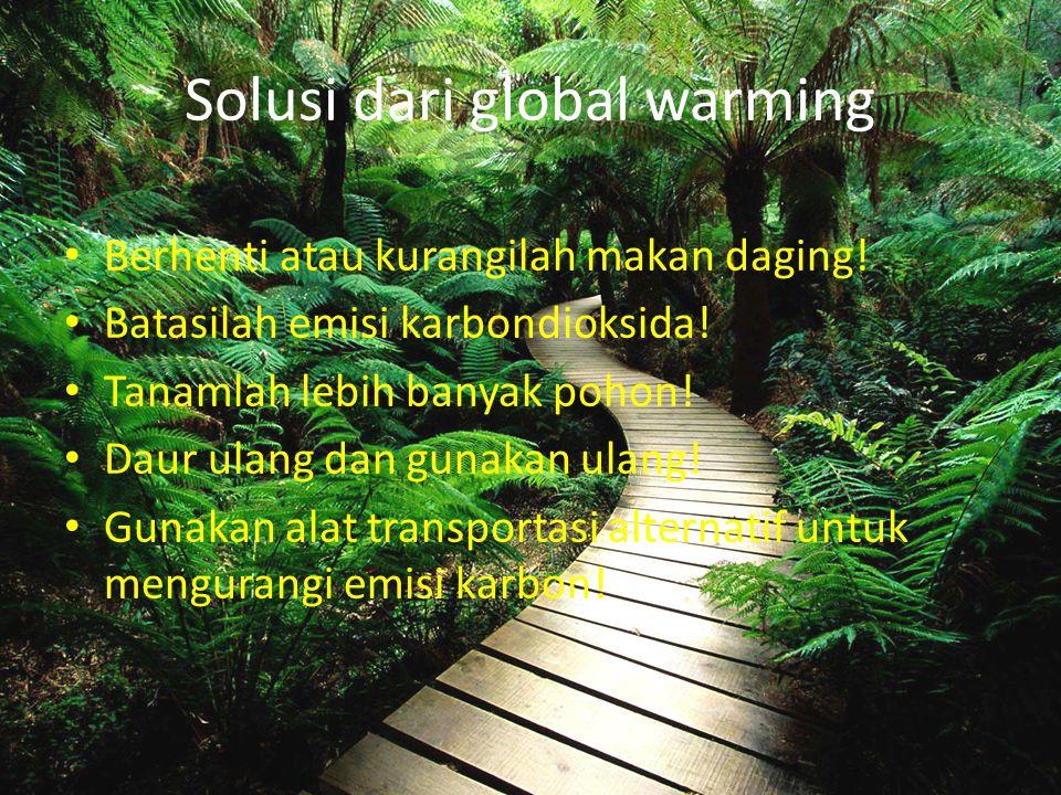 Solusi dari global warming