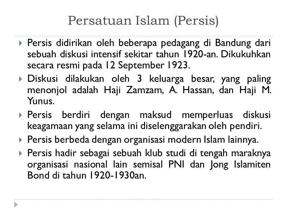 Persatuan Islam (Persis)